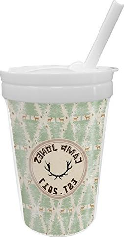 Deer Sippy Cup with Straw