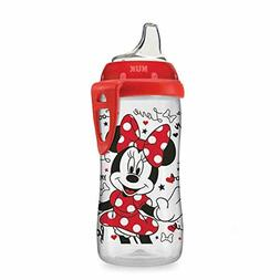 NUK Disney Active Sippy Cup, Minnie Mouse, 10oz 1pk