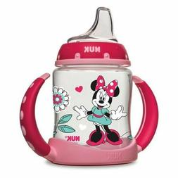NUK Disney Baby Minnie Mickey Mouse Girls Boys Learner Sippy