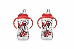 NUK Disney Large Learner Sippy Cup, Minnie Mouse, 10oz 2 Pac