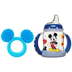 NUK Disney Learner Cup, Mickey Mouse, 5-Ounce with Teether