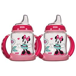 NUK Disney Learner Cup with Silicone Spout, Minnie Mouse, 5-