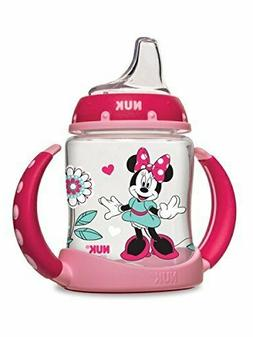 NUK Disney Learner Sippy Cup, Minnie Mouse, 5oz 1pk for Kids