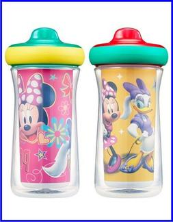 Disney Mickey Mouse Insulated Hard Spout Sippy Cups 9 Oz 2pk