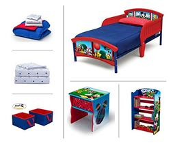 Disney Mickey Mouse Toddler Room Set, 6-Piece