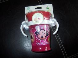 Sassy Disney Minnie Mouse 7 oz Trainer Cup with Handles 9m+