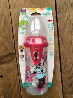 NUK Disney Minnie Mouse Active Cup, 10-Ounce 12m+ NEW