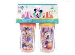 Disney Minnie Mouse Insulated Hard Spout Sippy Cups 9 Oz Bab