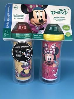 Disney Minnie Mouse Insulated Hard Spout Sippy Cups Toddler