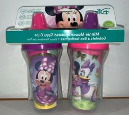 The First Years Disney Minnie Mouse Insulated Sippy Cup Set