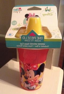 THE FIRST YEARS DISNEY MINNIE MOUSE SIPPY CUP ONE PIECE LID