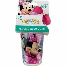 Disney Minnie Mouse Take Sippy Cup Baby Toddler Feeding Chil