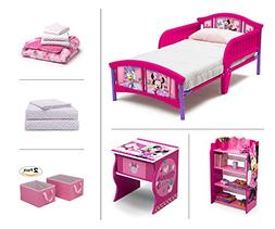 Disney Minnie Mouse Toddler Room Set, 6-Piece