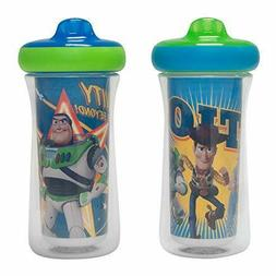 Disney/Pixar Toy Story Insulated Hard Spout Sippy Cups 9 Oz,
