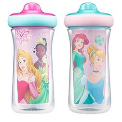 Disney Princess Insulated Hard Spout Sippy Cups 9 Oz, 2pk |