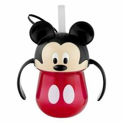 The First Years Disney Baby Trainer Straw Cup with Handles,