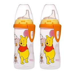 NUK Disney Winnie the Pooh Silicone Spout Active Cup, 10-Oun