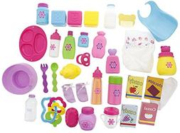 Doll Care Accessories Food, Feeding, & Grooming Play Set - I