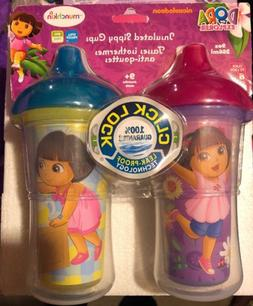 Dora the Explorer Click Lock Insulated Sippy Cup, 9 Ounce, 2