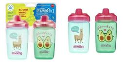 2 Count Brown/'s Milestones Hard Spout Sippy Cup Dr 12 ounce
