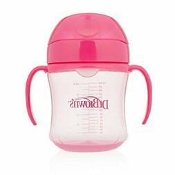 Dr. Brown's Soft-Spout Transition Cup, 6 oz , Pink, Single