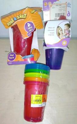 Durable Sippy Cups  Interchangeable Lids