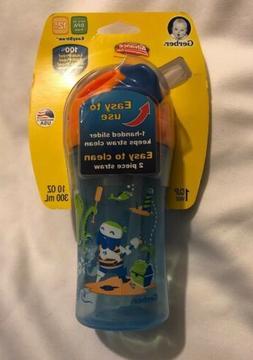 NUK Easy Straw 10 Oz Sippy Cup 100% Leak-Spill-Break Proof B