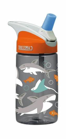 CamelBak Eddy 0.4 Liter Kids Water Bottle - Sharks