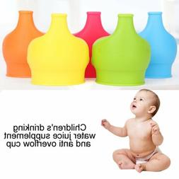 Elephant Silicone Sippy Cup Lid Spill-Proof Cup Cover Babies