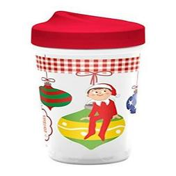 Elf on the Shelf Sippy Cup with perfect flo Valve by Zak!