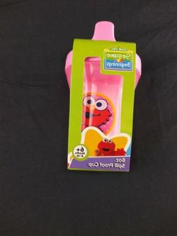 Elmo Sesame Street Sippy Cup Pink 8oz Spill Proof BPA-Free P