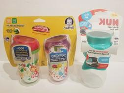 NUK Everlast 360 Sippy Cup And Gerber Graduates Advanced Dev