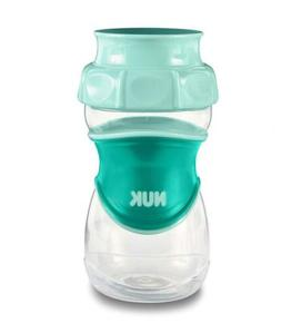 NUK Everlast 360 Sippy Cup, Green, 10oz 1pk
