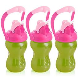 Evenflo Feeding Advanced Straw Sippy Cup with Handle for Tod