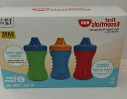 NUK First Essentials 10 Oz Fun Grips Hard Spout Sippy Cup 3