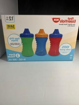 First Essentials By NUK Fun Grips Hard Spout Sippy Cup 10 oz