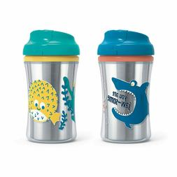 First Essentials by NUK Hard Spout Sippy Cup, 10 oz., Assort