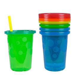 The First Years Take & Toss Straw Cups, 10 Ounce, 4 Pack. Ne