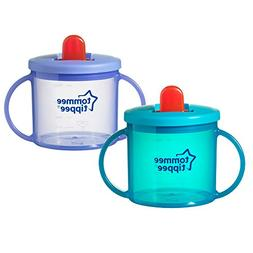 Tommee Tippee 2 Pack Free Flow Trainer Cup - Blue and Purple