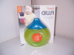 Boon Fluid sippy cup blue top New