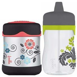 THERMOS Foogo 11oz Hard Spout Sippy Cup with 10oz Insulated