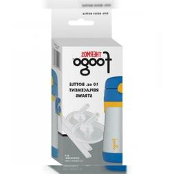 Thermos Foogo Replacement Straw Set for 10-Ounce Bottles, of