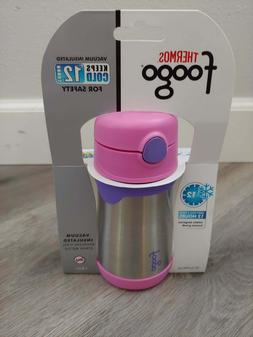 Thermos Foogo Toddler Sippy Cup Pink 10oz