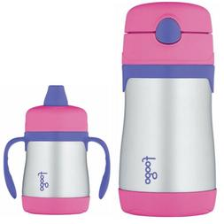 THERMOS FOOGO Vacuum Insulated S/S Food Jar and Water Bottle