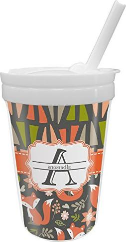 Fox Trail Floral Sippy Cup with Straw