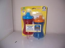 Gerber Fun Grip shape  Sippy cup   new Red Blue  Hard Spout