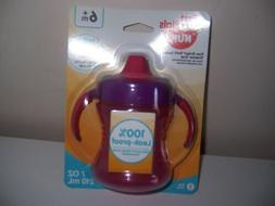 Nuk fun grips soft spout trainer sippy cup New Pink