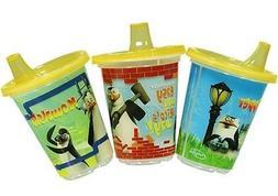 "Evenflo ""Penguins Of Madagascar"" Funsip Convenience Cup 3-Pa"