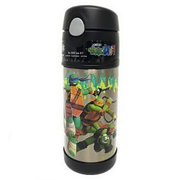 Thermos FUNtainer Teenage Mutant Ninja Turtles Bottle With S