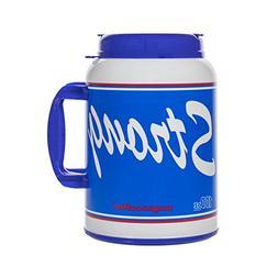 100 Oz Giant Insulated Mug with Straw - # USA Strong - Large